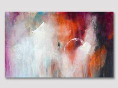 Original abstrakt UNGEDEHNT Malerei abstrakte von ARTbyKirsten