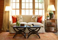 pillows coffee tables