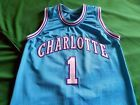 For Sale - Charlotte Hornets Retro Stitched Jersey MUGSY BOGUES Size SMALL - http://sprtz.us/HornetsEBay