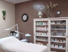 facial treament rooms | ... area facial led light treatment room waxing area retail products