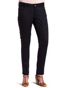 Wallflower Jeans Women's Plus Size Seriously Straight Chino Pants at Amazon Women's Clothing store: Khaki Pants Women