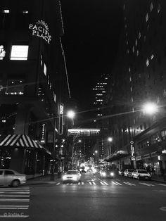 8th Street (evening scene)  Seattle, Washington. USA