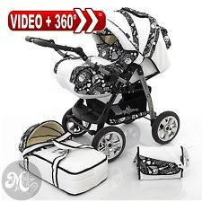 Milk Rock Baby Starcruiser 2 in 1 Baby Pram Stroller & Pushchair