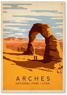 Take a look into those beautiful vintage travel posters USA. Perfect post on vintage poster designs of US. Showing amazing travel posters from all around. Party Vintage, Style Vintage, Vintage Design, Retro Style, American National Parks, National Parks Usa, Tag Design, U2 Poster, Wpa Posters