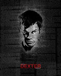 Dexter by on deviantART Dexter Season 4, Michael C. Hall, Old Film Posters, Jennifer Carpenter, Horror, Dexter Morgan, Nerd, Old Tv Shows, Slice Of Life