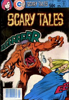 Horror Comics, Horror Art, Real Zombies, Vampire Bride, Valley Of Death, Swamp Creature, Charlton Comics, Scary Tales, Steve Ditko