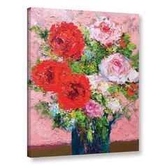 """Alcott Hill Victoria Painting Print on Wrapped Canvas Size: 48"""" H x 36"""" W x 2"""" D"""