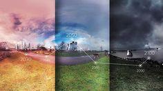 Ilmastokatastrofin kynnyksellä. Tulevaisuuden kuvia.
