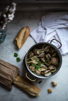 Local Milk | @Makr x local milk: d.i.y. menus + place cards & clams in saffron mint broth
