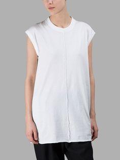 DAMIR DOMA DAMIR DOMA WOMEN'S WHITE T-SHIRT. #damirdoma #cloth #t-shirts