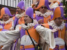 carnaval de cadiz. las chirigotas.