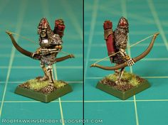 How to add bow strings to your archer mini's.