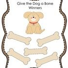 This is a freebie award for a classroom game - Give the Dog a Bone...