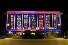 Enlighten Canberra Festival – National Library of Australia by Paul Hagon, via Flickr
