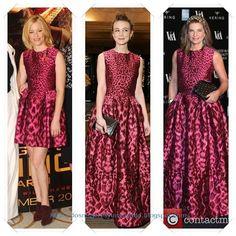 Un vestido de Alexander McQueen lo han llevado Elizabeth Banks en versión corta; Carey Mulligan; y Natalie Massenet.