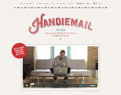 Handiemail: Real Handwritten Letters website