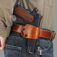 $65 Galco Yaqui Slide is a super low profile belt loop holster making your CW even easier to keep with you.