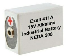 Exell Batteries 411a Neda 208 10f20 Blr121 15v Alkaline Battery 1 20 00 2 3 19 4 18