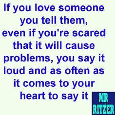 #MrRitzer #Love