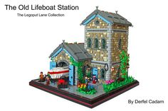 B-OV-34E Hey guys, i finally found a bit of time to build something, so I figured I would attempt the Lifeboat Station for my collection. Im quite happy wi...