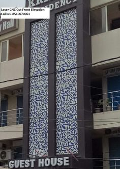 Grc Jali And Laser Cut Front Elevation In Delhi Noida