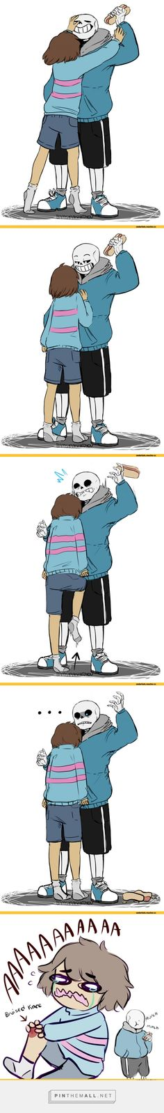 Undertale, Frisk and Sans