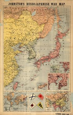Johnstons Russo-Japanese War Map (a)