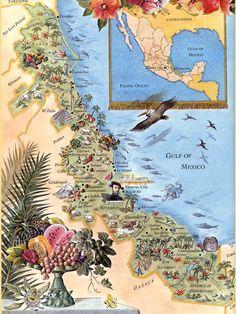 maps & travel illustrations of Rodica Prato