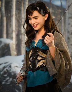 "Lily Collins would've been a way better pick than Kristen Stewart for ""Snow White and the Huntsman."" She had vibrant personality and the innocent princess air about her that is associated with Snow White. They would've given Lily Collins lines to act..."