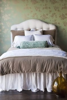 Bella Notte Linens....we will soon be carrying this linen line!