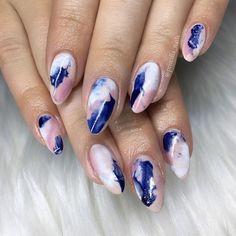 #nailart @KortenStEiN Manicure Nail Designs, Toe Nail Designs, Nail Manicure, Nails Design, Different Nail Designs, Short Nail Designs, Love Nails, How To Do Nails, Fun Nails