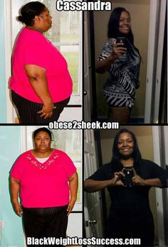 Cassandra lost 305 pounds   Black Weight Loss Success