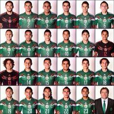 Selección Mexicana  Mis héroes.