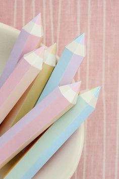 What's better than writing in pastel colors?