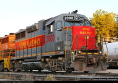 RailPictures.Net Photo: UTAH 2000 Utah Railway Company EMD GP38-2 at Ogden, Utah by James Belmont