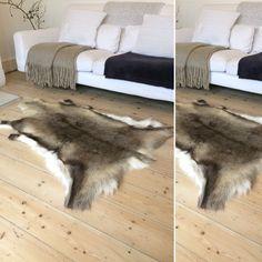 Nordic and co Scandinavian premium quality Scandinavian reindeer skin rug Shag Rug, Reindeer, Scandinavian, Rugs, Home Decor, Log Burner, Shaggy Rug, Farmhouse Rugs, Decoration Home