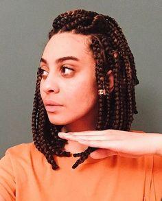 bob box braids poppin @hannahfaith__ #MyHairCrush #protectivestyles #braids…