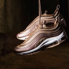 outlet store a625c cbd21 Air max 97s nike sneakers airmax97 trainers metallic fashion  sportslux tags