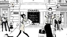 Coco Chanel: The Illustrated World of a Fashion Icon by Megan Hess #wisdom #coco #inspiration
