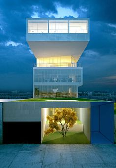 Beautiful Office Exterior  #arquitetura #architecture #design #building #estrutura #structure
