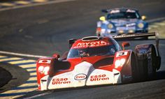 1999 Toyota GT ONE Race Car at the 24 Hours of Le Mans.