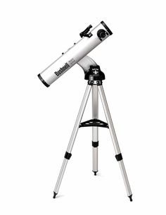 BUSHNELL 78 8846 Northstar(R) Talking Reflector Telescope x 900 x motorized reflector telescope; Real Voice Output(TM) (RVO) describes the night sky in a human voice; Reflecting Telescope, Insurance Auto Auction, Bushnell Binoculars, Telescopes For Sale, Science Supplies, Shop Usa, Night Vision, Tripod, Astronomy