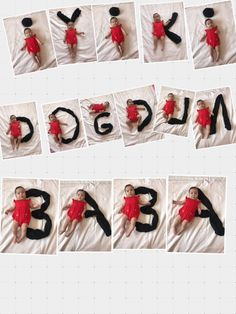 Use Baby poses to create a message - İpekce Fikirler Birthday Message To Dad, Birthday Messages, Birthday Cards, Monthly Baby Photos, Baby Monthly Milestones, Baby Poses, Kid Poses, Baby Girl Photography, Children Photography