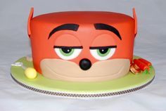 Zootopia Birthday Cake, Nick the fox