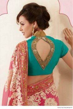 True Essence of Saree Blouse Patterns | Blouse Designs
