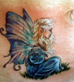 Darling small tattoo.