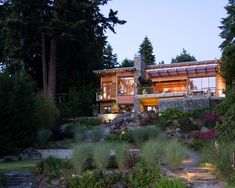 hanggarten haus nutzen gestalten ideen terrassierung