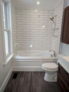 Dreaming of an extravagance or designer master bathroom? We've gathered together lots of gorgeous bathroom some ideas for small or large budgets, including baths, showers, sinks and basins, plus master bathroom decor ideas. Small Full Bathroom, Bathroom Design Small, Bathroom Layout, Bathroom Interior, Dyi Bathroom, Bathroom Designs, Neutral Bathroom, Master Bathrooms, Small Bathrooms