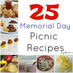 memorial day picnic food recipes