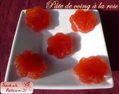 Pâte de coing à la rose, une friandise très raffinée - SAVEUR PASSION